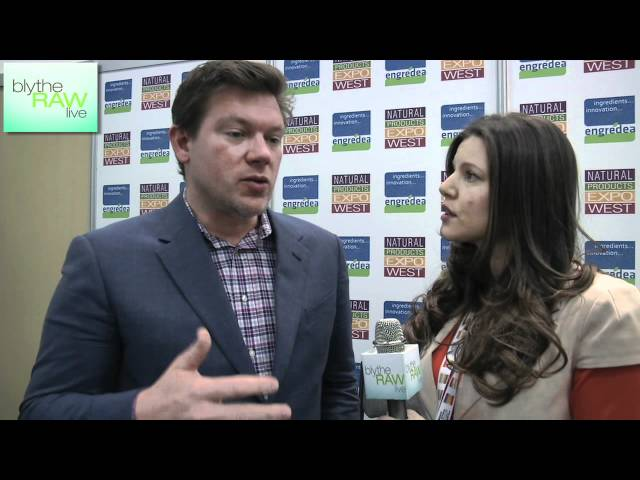Tyler Florence Interview at Natural Products Expo West - Blythe Raw Live