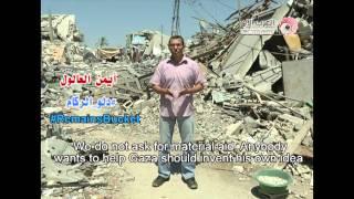 gaza-starts-the-rubble-bucket-challenge