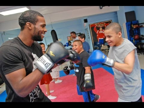 Kids Use Boxing to Knockout Obesity