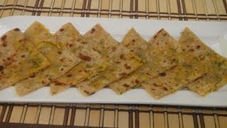 Raw Papaya Paratha..