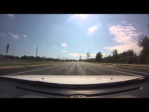 DASH CAM FROM INTERSTATE 2 95 TO GREENLAND ROAD  JACKSONVILLE FLORIDA   GO PRO