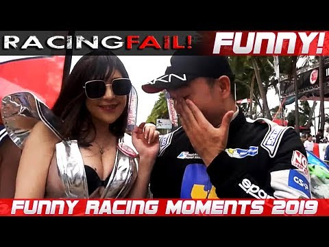 FUNNY RACING 4! Fails, Hilarious Situations and Commentaries of 2019 Compilation