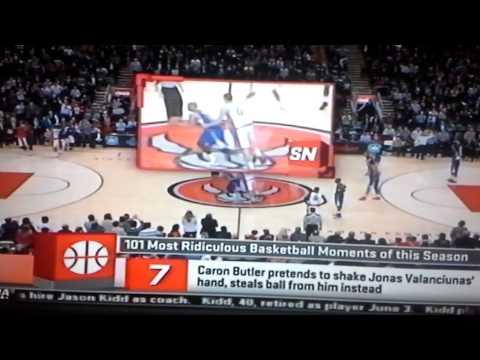 Caron butler fake hand shake