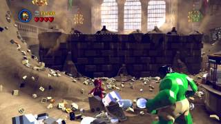 PS4 Lego: Marvel Super Heroes Gameplay Part 1