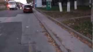 Piste ciclistice impracticabile pe bd. Dacia, Chişinău