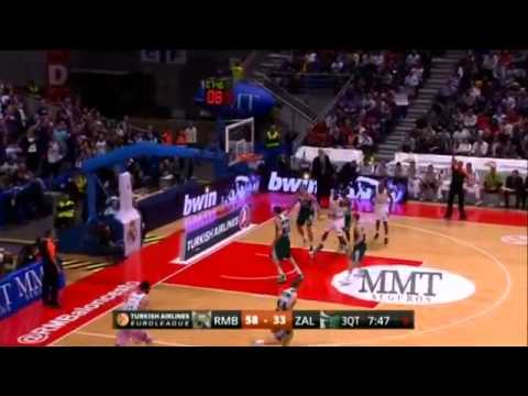 Euroleague 2013/14 : Real Madrid 95-67 Zalgiris Kaunas