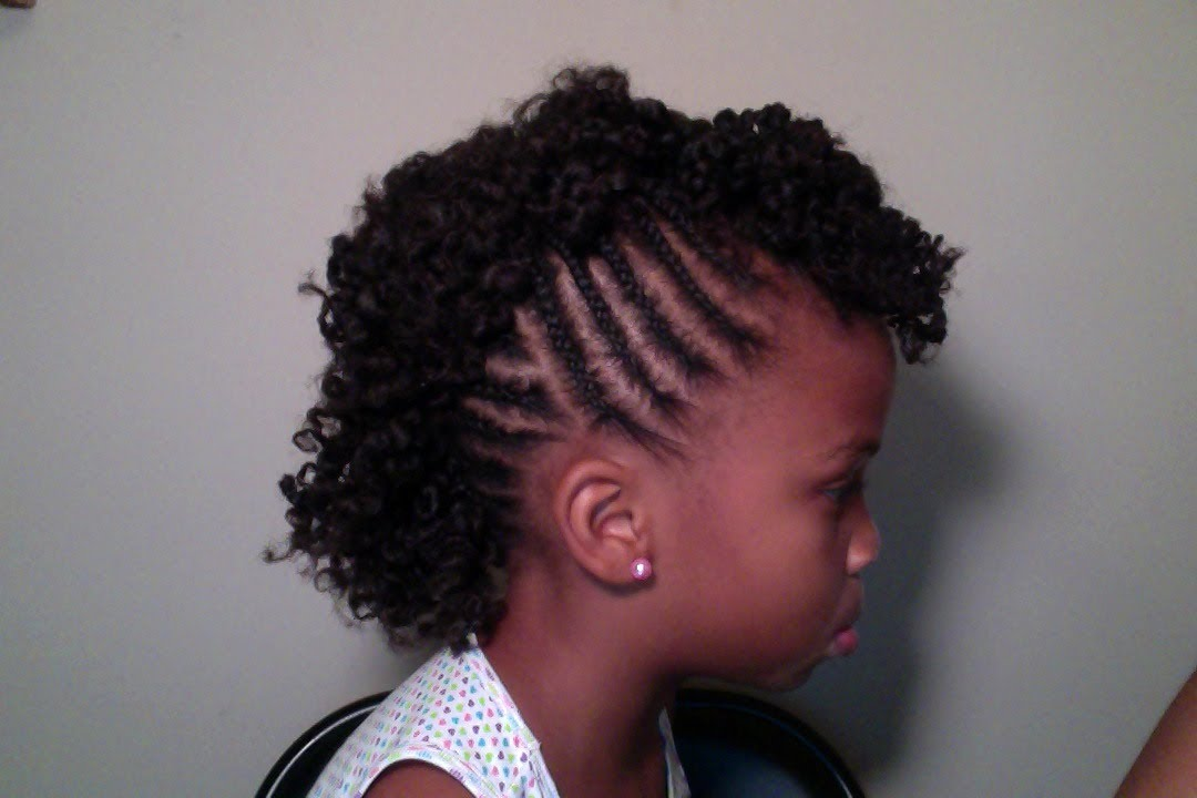 Child's Natural Hair | Mohawk - YouTube