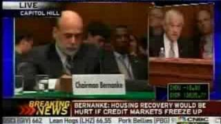 Congressman Ron Paul Schools Bernanke on the Bailout Plan