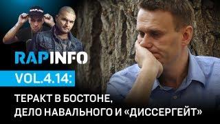 RAPINFO - Теракт в Бостоне, дело Навального и Диссергейт