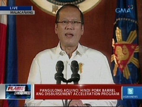 Flash Report:  Pangulong Aquino: Hindi pork barrel ang DAP