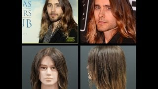 Jared Leto Beachy Waves Ombre Hair Tutorial