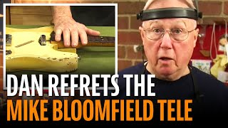 Watch the Trade Secrets Video, Refretting the Mike Bloomfield Tele
