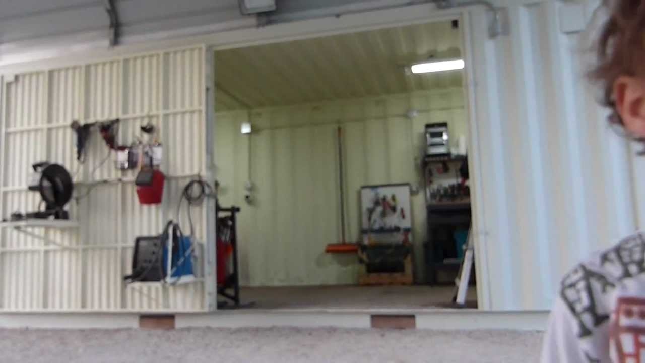 Shipping Containers Home Work Shop Part 2 Youtube