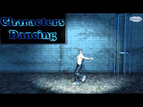 Johnny Cage dancing Paso Doble