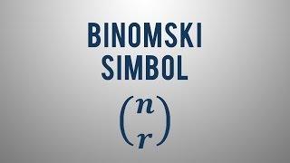 Kaj je binomski simbol?