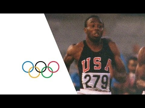 Jim Hines Breaks The 10 Second Barrier For 100m Gold | Mexico 1968 Olympic Film