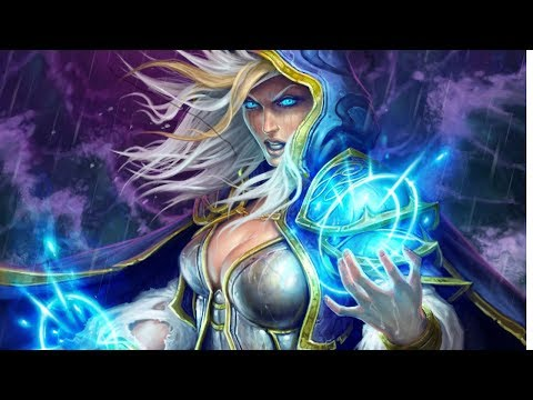 Hearthstone Gameplay!!! Mage and Warlock decks are OP