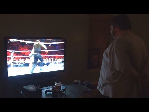 Fat Kid Upset Over Wrestling