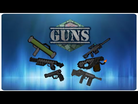 GUNS in Vanilla Minecraft | ONLY ONE COMMAND BLOCKS (1.10)