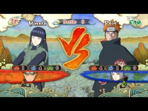 Hinata Vs Pain [Request] | Naruto Shippuden: Ultimate Ninja Storm 3