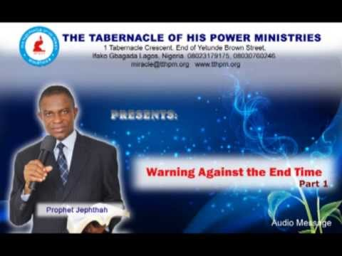 Warning Against the End Time