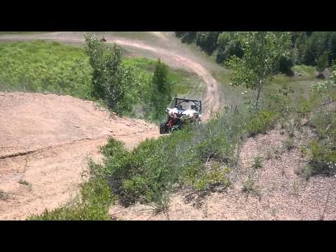 2014 Can Am Maverick 1000 XXC sand hill climb