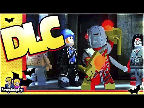 LEGO BATMAN 3 - DLC THE SQUAD Level & Characters!