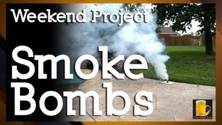 How To Make Homemade Smoke Bombs