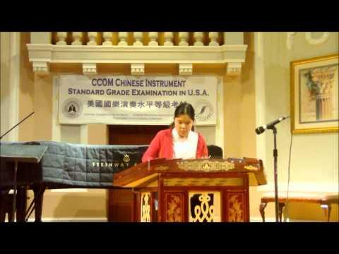 2013 CCOM Exam USA Concert Recital - Grade 8 Yangqin - by Ellen Chen