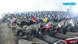 BẠT NGÀN xe máy trong bãi giữ xe vi phạm TP.HCM, có khả năng CHÁY NỔ không?