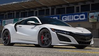 2017 Acura NSX Hot Lap! - 2016 Best Driver's Car Contender. MotorTrend.