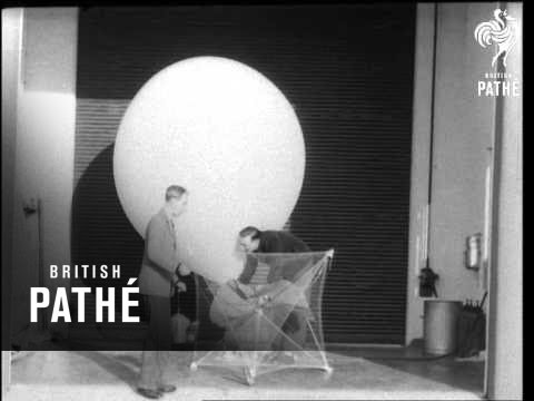 Meteorological Radio-Sonde Balloon (1956)