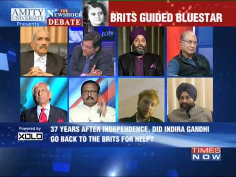 The Newshour Debate: Brits guided Operation Blue Star - Part 2 (15th Jan 2014)