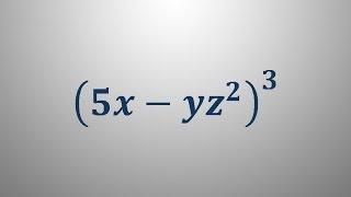 Potenciranje izrazov 3