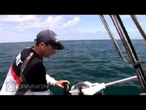 Trolling for snapper with a downrigger