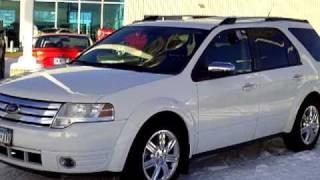 2008 Ford Taurus X Limited AWD videos