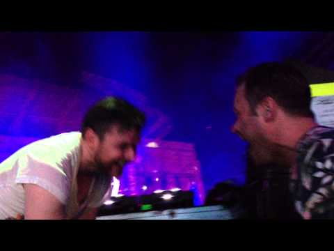 ATB giving Dash Berlin a nice hug during Apollo Road at EDC Orlando 2013