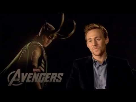 Tom Hiddleston - Marvel's The Avengers Interview