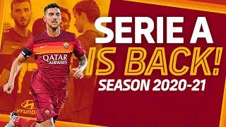 🤩? SERIE A IS BACK! | Season 2020-21