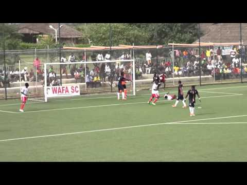 VIDEO: Watch WAFA's thrilling 0-0 draw with Inter Allies in Sogakope
