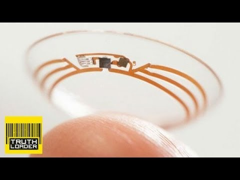 Google unveils diabetes testing contact lens prototype - Truthloader