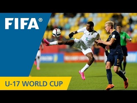 Video: Watch highlights of Nigeria's 6-0 thrashing of Australia at FIFA U17 World Cup Chile 2015