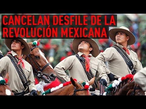 México: Cancelan el desfile militar del 20 de noviembre