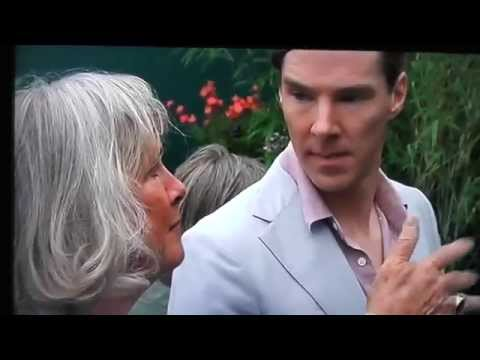 Benedict Cumberbatch Chelsea Flower Show Part 2