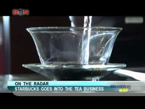 Starbucks goes into the tea business - Microblog Buzz - November 29,2013 - BONTV China
