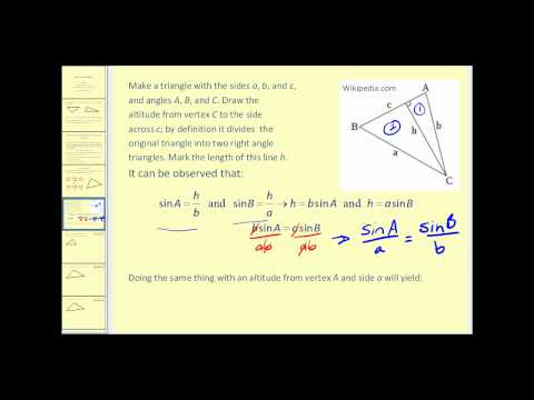 The Law of Sines: The Basics