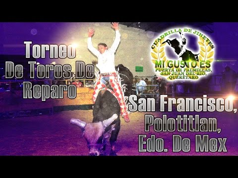Torneo de Toros De Reparo En San Francisco Polotitlan, Edo. De Mex. 2014