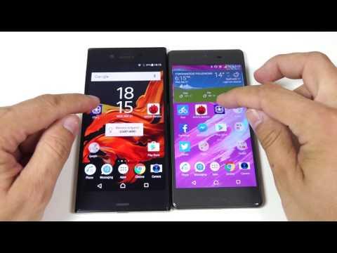 Sony Xperia XZ versus Sony Xperia X