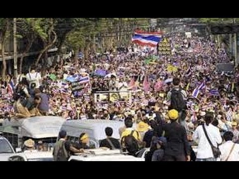 กำนันสุเทพ Thailand Protests  Gain Momentum Ahead of Election