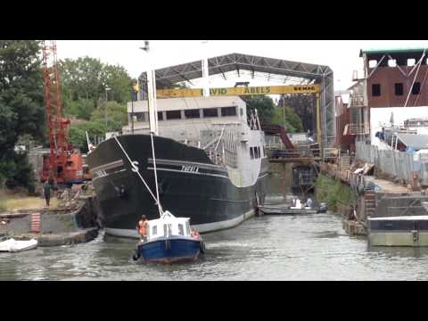 Thekla into dry dock for upgrade